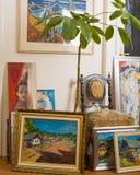Colección de las pinturas hermosas Fotos de archivo