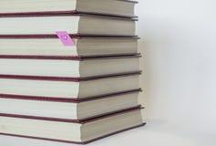 Colección de libros Imagenes de archivo