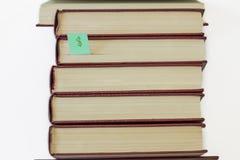 Colección de libros Foto de archivo libre de regalías