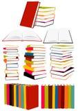 Colección de libros Foto de archivo