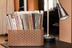 Colección de libros de los tebeos Fotografía de archivo libre de regalías