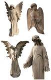 Colección de los ángeles del cementerio Imágenes de archivo libres de regalías