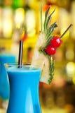 Colección de los cócteles - Hawaiian azul Fotografía de archivo