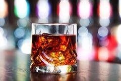 Colección de los cócteles - whisky en las rocas Fotografía de archivo libre de regalías