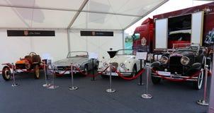 Colección de los coches de Tiriac Imagen de archivo