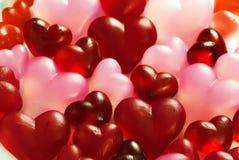 Colección de los corazones Fotos de archivo libres de regalías