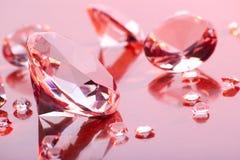 Colección de los diamantes Foto de archivo libre de regalías