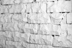 Colección de los fondos - pared de ladrillo blanca Foto de archivo libre de regalías