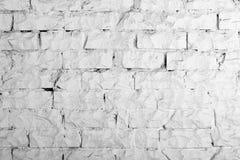 Colección de los fondos - pared de ladrillo blanca Fotografía de archivo libre de regalías