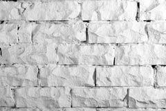 Colección de los fondos - pared de ladrillo blanca Fotos de archivo libres de regalías
