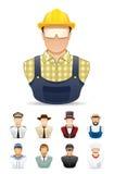 Icono de la gente del empleo # 1 Fotos de archivo
