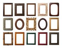 Colección de los marcos Fotografía de archivo libre de regalías
