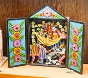 Colección de los pesebres en duques Palace de Cadaval Imagen de archivo