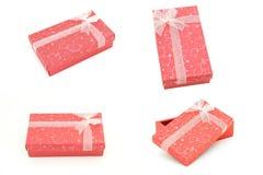 Colección de los rectángulos de regalo Foto de archivo libre de regalías