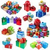 Colección de los regalos Fotografía de archivo libre de regalías