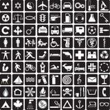 Colección de los símbolos Ilustración del Vector