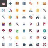 Colección de los videojuegos y de los elementos del juego libre illustration