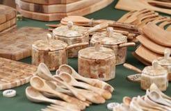 Colección de madera del arte Foto de archivo libre de regalías