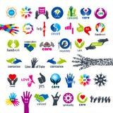 Colección de manos de los logotipos del vector libre illustration