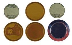 Colección de medallas Imagen de archivo libre de regalías