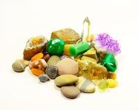 Colección de minerales Imagen de archivo libre de regalías