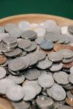 Colección de moneda Imagen de archivo libre de regalías