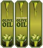 Colección de Olive Oil Labels ilustración del vector