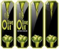 Colección de Olive Oil Labels libre illustration