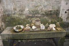Colección de piedra Foto de archivo libre de regalías