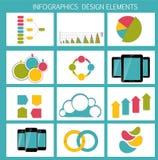 Colección de plantillas de Infographic para el negocio Imagenes de archivo