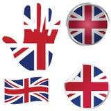 Colección de Reino Unido Imagen de archivo libre de regalías