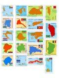 Colección de sello del vector ilustración del vector