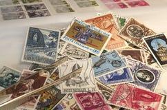 Colección de sellos Fotos de archivo libres de regalías