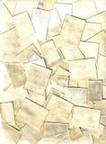 Colección de sellos del poste Fotos de archivo libres de regalías