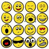 Colección de sonrisas Foto de archivo libre de regalías