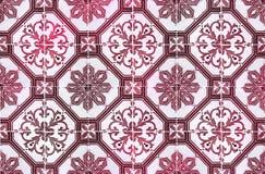 Colección de tejas rojas de los modelos Foto de archivo libre de regalías