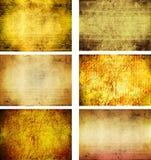 Colección de texturas del fondo del grunge Imagenes de archivo