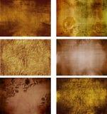 Colección de texturas del fondo del grunge Foto de archivo
