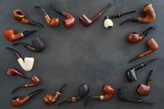 Colección de tubos Foto de archivo libre de regalías