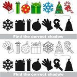 Colección del Año Nuevo Encuentre la sombra correcta Imágenes de archivo libres de regalías