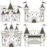 Colección del castillo del vector libre illustration