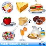 Colección del desayuno Fotos de archivo libres de regalías