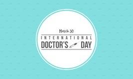 Colección del diseño de la celebración del día del doctor ilustración del vector