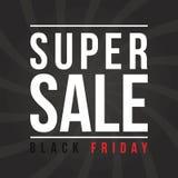 Colección del fondo de la venta de Black Friday Foto de archivo libre de regalías
