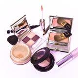 Colección del maquillaje Foto de archivo