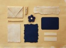 Colección del pedazo de papel Foto de archivo libre de regalías