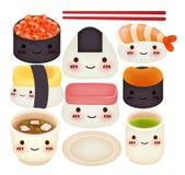 Colección del sushi Foto de archivo libre de regalías