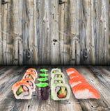 Colección del sushi Imagen de archivo