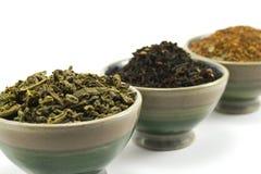 Colección del té Imagenes de archivo