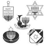 Colección del vector de etiquetas y de elementos Fotografía de archivo libre de regalías